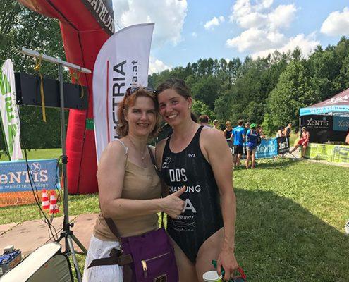 Lisa Schaunig - 2. bei den österreichischen Meisterschaften Triathlon